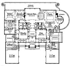 Neoclassical Style House Plans House Interior - Neoclassical house plans
