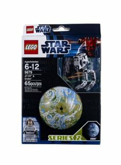 """LEGO Star Wars 9679 AT-ST and Endor by LEGO. $9.76. Vehicle and minifigure display stand with plaque also included. Explore the LEGO Star Wars galaxy while you play. AT-ST stands over 3"""" (9cm) tall. Planet Endor diameter over 3"""" (9cm). Hang your planet from the ceiling. From the Manufacturer                In Star Wars: Episode VI Return of the Jedi, the forest moon of Endor, which houses the second Death Star's shield generator, comes under attack from a Rebel assault team. Aid..."""