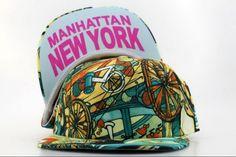 Cheap Wholesale Cartoon Manhattan New York Snapback Hats for slae at US$8.90 #snapbackhats #snapbacks #hiphop #popular #hiphocap #sportscaps #fashioncaps #baseballcap