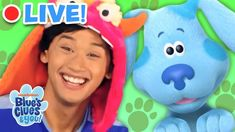 🔴LIVE: Josh & Blue Vlog MARATHON! | Blue's Clues and You