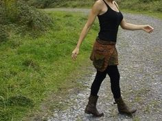 Falda/sobrefalda por Hippieholi en Etsy