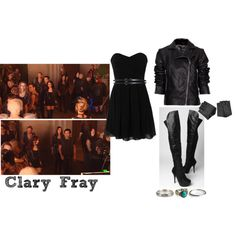 Lily Collins // Clary Fray - Filming COB by lawsy89 on Polyvore