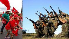 Inteligência do Exército Brasileiro já está monitorando o MST para evitar quebradeiras