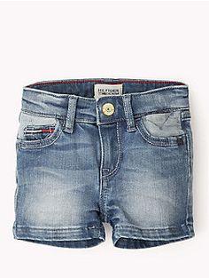 21665182ac Hilfiger Mini Pantalones Cortos Denim Tienda Oficial