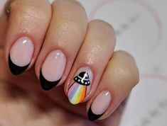 15 Increíbles diseños de uñas inspiradas en el espacio You are in the right place about wedding nails grey Here we offer you the most beautiful pictures about the wedding nails stiletto you are lookin Stylish Nails, Trendy Nails, Cute Nails, My Nails, Glitter Nails, Nail Swag, Alien Nails, Hippie Nails, Hippie Nail Art