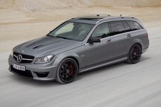 LUST!  2014 Mercedes C63 AMG Wagon