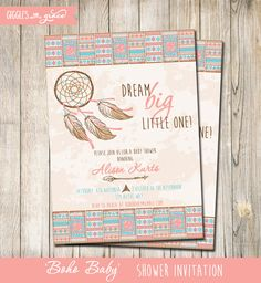 Boho Baby Shower - Dream big, little one! Cute idea...maybe with different artwork though Iris...