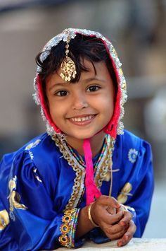 Bright Eyed Smile - Qurm, Masqat, Oman ©Abdulrahman Alhinai