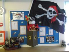 Pirates, World Book Day, Pirate Books, Pirate Ships, Pirate Display, Display, Classroom Display, Early Years (EYFS), KS1 & KS2 Primary Teaching Resources