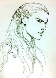 Elven Prince. http://evankart.tumblr.com/post/53840646912/elf-prince