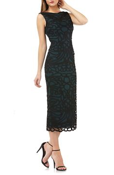 Save money on JS Collections Soutache Embroidered Midi Dress Urban Outfits, Trendy Outfits, Semi Formal Wedding Attire, Midi Dress Sale, Holiday Dresses, Nordstrom Dresses, Clothing Patterns, Formal Dresses, Women's Dresses