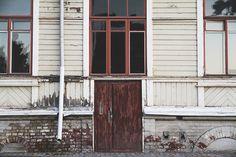 Old house in Hämeenlinna, Finland.