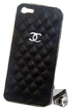 Black – Designer inspired Leather iPhone 5 case « Impulse Clothes