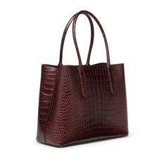 Mara Ciappa Business Bag in navy | Smythson New Job Gift, Smythson, Us Navy, Calf Leather, Crocodile, Gifts For Women, Louis Vuitton Damier, Bucket Bag, Calves