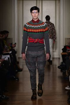 Stella Jean FW 2015 | Menswear Collection  #Métissage #StellaJean #FW15 #FallWinter15 #FashionShow #Fashion #CNMI #MMU