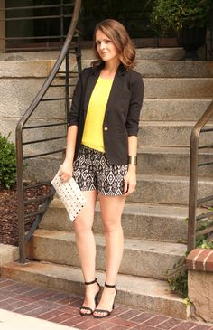 Striped Tees   Printed Shorts| Penny Pincher Fashion