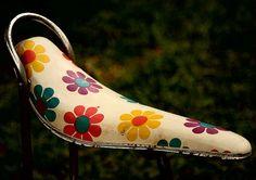 Vintage Schwinn Daisy Banana Seat