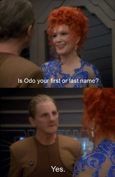 Odo Is a Diva Just Like Cher and Madonna