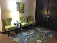 Boca Raton psychologist office waiting room