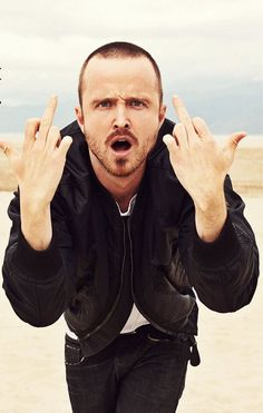 Aaron Paul needs an Emmy this year.  His portrayal of Jessie has been a stunner.
