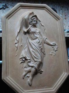 KERAMK RELIEF CADINEN in Antiquitäten & Kunst, Porzellan & Keramik, Keramik   eBay L. Manzel