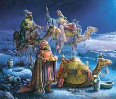 They Come Bearing Gifts Jigsaw Puzzle   Religious & Inspirational   Vermont Christmas Co. VT Holiday Gift Shop