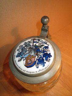 Hannover - Turnerschaft Hansea - 1930 - Wappen - Bierkrug / Studentika | eBay Pocket Watch, Ebay, Accessories, Beer Stein, Crests, Hannover, Pocket Watches, Jewelry Accessories