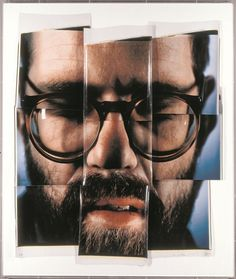 Chuck Close (American, born 1940). Self-Portrait/Composite/Nine Parts, 1979. 9 Polaroids, 83 x 69 inches. Whitney Museum of American Art, New York, Gift of Barbara and Eugene Schwartz.