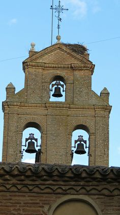 Royal Convent of Santa Clara, Tordesillas, Valladolid, Spain  / On the way from Salamanca to Valladolid