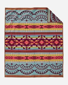 Pendleton is famous for quality wool blankets made in USA. Shop Southwestern blankets & geometric pattern blankets now. Weighted Blanket, Wool Blanket, Pendelton Blankets, Throw Blankets, Pattern Definition, Southwestern Blankets, Opposite Colors, Pendleton Woolen Mills, Cooling Blanket