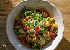 Insalata di Soia Gialla, Pomodori Secchi, Rucola e Arachidi