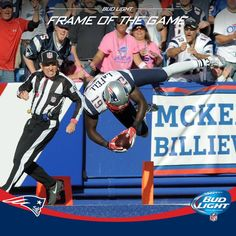 Frame of the Game: Brandon LaFell dives into the end zone for game-clinching, 56-yard TD from Tom Brady!
