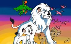 Kimba the White Lion.