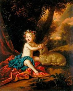 Princess Isabel, daughter of James II and Mary of Modena.