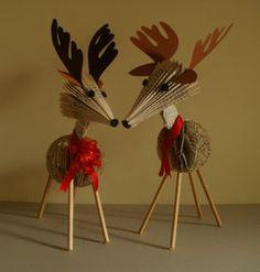 clara maffei paper reindeer