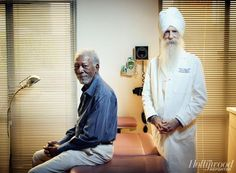 Dr. Soram Khalsa, featured in The Hollywood Reporter's Top Doctors Issue, combines traditional medical practices with acupuncture, homeopathy, herbs and vitamin therapies.