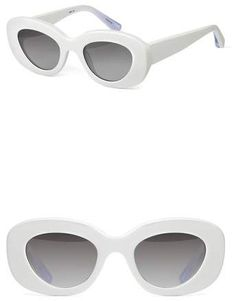 1a437666bd Elizabeth and James Fray 47mm Cat Eye Sunglasses