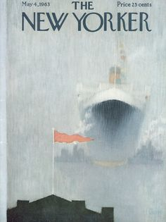 The New Yorker - Saturday, May 4, 1963 - Issue # 1994 - Vol. 39 - N° 11 - Cover by : Charles E. Martin