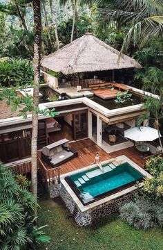 Modern architecture house design with minimalist style and luxury exterior and interior and using the perfect lighting style is inspiration for villas mansions penthouses Best All Inclusive Honeymoon, Honeymoon Places, Rest House, Dream House Exterior, House Goals, Modern House Design, Dream House Design, Tropical House Design, Small House Design