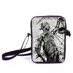 Rock Band Metallica Mini Messenger Bag Punk Animal Crossbody Bag Young Men Women Daily Bags Boys Girls Bookbag School Bags