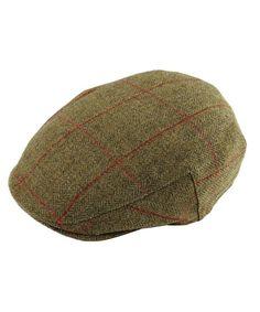 78ca8eda435 Men s Alan Paine Combrook Waterproof Tweed Flat Cap