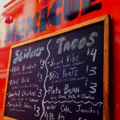 Sliders or tacos? Sliders AND tacos! We always want more from The Mexicue food truck.