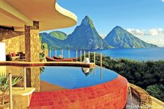 Anse Chastanet Resort St.Lucia's Romantic Honeymoon Adventure Hideaway, Soufriere, St. Lucia Hotels & Resorts - RealAdventures