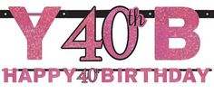 http://www.partycity.com/product/prismatic 40th birthday banner pink sparkling celebration.do