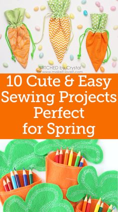 I don't know about you, but I love sewing for Easter. Here's not one bunny sewing pattern, but 20 free sewing patterns with a bunny to inspire you to sew for Easter – or anytime! Easy Sewing Projects, Sewing Projects For Beginners, Sewing Hacks, Sewing Tutorials, Sewing Tips, Sewing Ideas, Sewing Crafts, Fabric Basket Tutorial, Leftover Fabric
