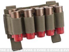 Matrix 10 Shotgun Shell MOLLE System Ready Pouch / Holster - Tan