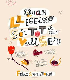 Sant Jordi ja cavalca per Nou Barris! Days Of Week, Saint George, Book Lovers, Saints, Classroom, Lettering, Teaching, How To Plan, Words