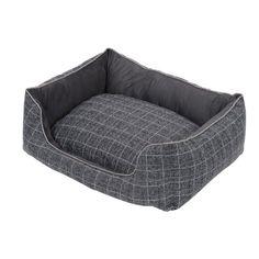 Acquista questa bellissima #cuccia per #cani di piccola e media taglia, soffice e spaziosa, in tessuto #grigio, #sfoderabile e #lavabile! http://www.principini.it/prodotti/cani/cuccia-per-cani-2