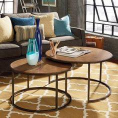 Round Coffee Tables on Hayneedle - Round Coffee Tables For Sale - Page 3