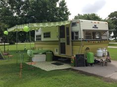 new Marti's Awning on a Prowler. This is the exact trailer we have so I'm looking at awning styles!